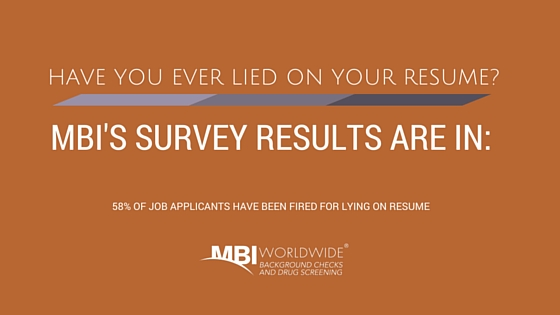 resume fraud mbi worldwide s survey results are in
